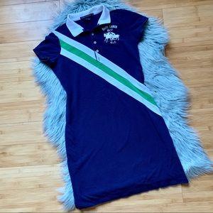 SOLD✨VTG Ralph Lauren Sport Cotton Polo Dress